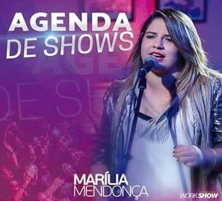 Agenda de Shows de Marília Mendonça 2017