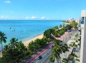 Maceió a capital maior do Estado costeiro de Alagoas