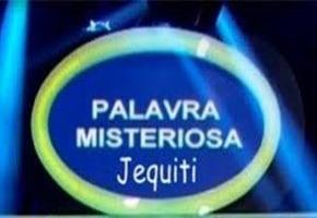 Palavra Misteriosa Jequiti