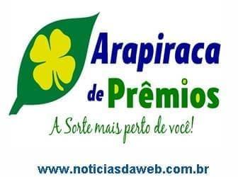 Arapiraca de Prêmios Resultados de Domingo 17-10-2021